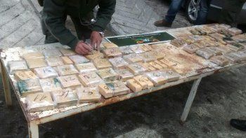 Pareja quería cruzar a Chile con 70 kilos de marihuana