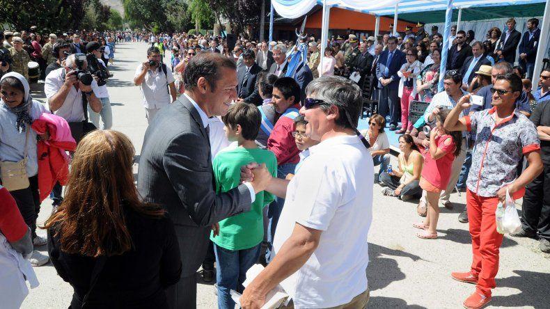 Gutierrez quiere ampliar la costanera de Junín de los Andes