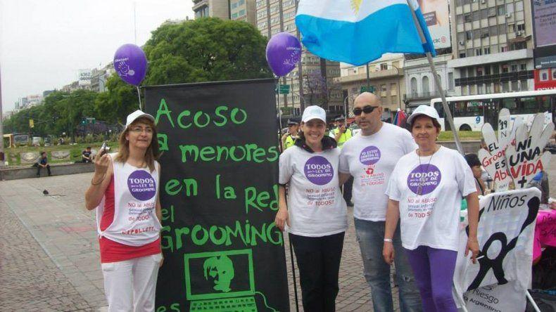 La cipoleña Rosa Castro dio el puntapié inicial en la lucha contra el grooming