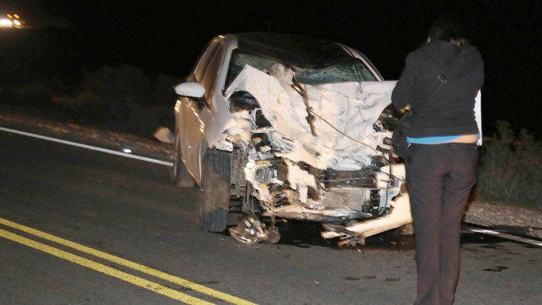 Un hombre y una mujer fallecieron en un choque frontal contra un Punto a 17 kilómetros de Zapala.