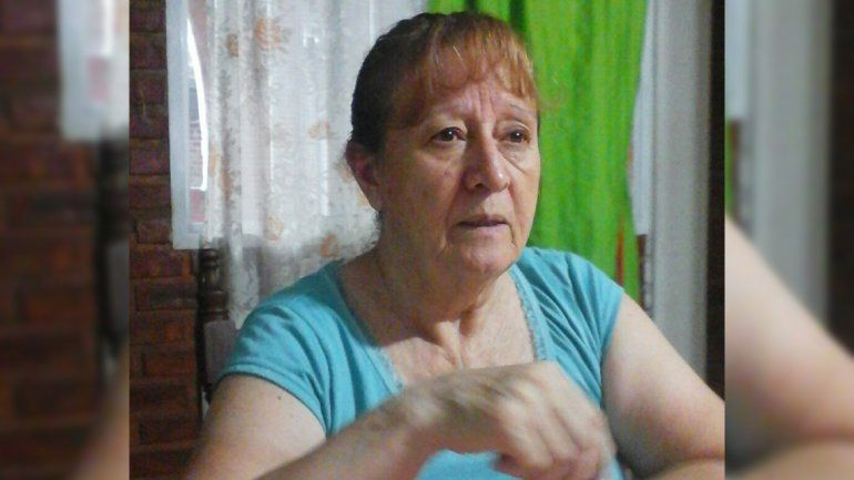 Dorila Muñoz fue vista por última vez en su casa del barrio Mariano Moreno.