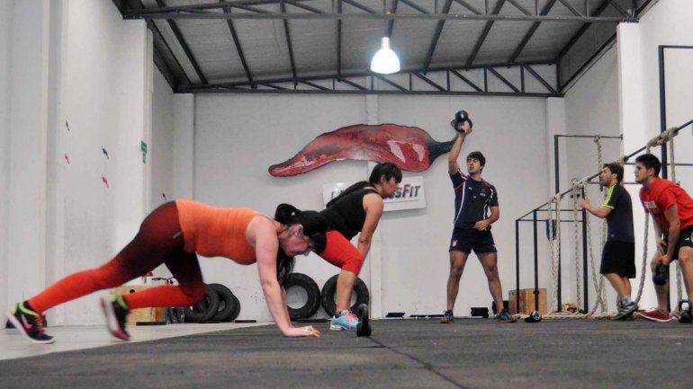 Los neuquinos ya adoptaron esta nueva modalidad de entrenamiento.