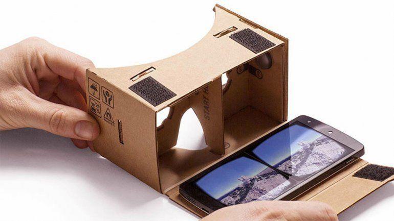 Google trabaja en su casco virtual