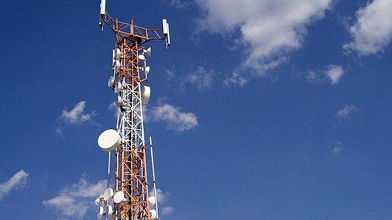 Las antenas salieron de servicio tras las roturas provocadas.