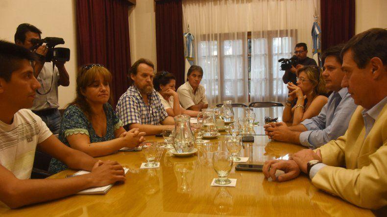 La última reunión se llevó a cabo en horas de la tarde