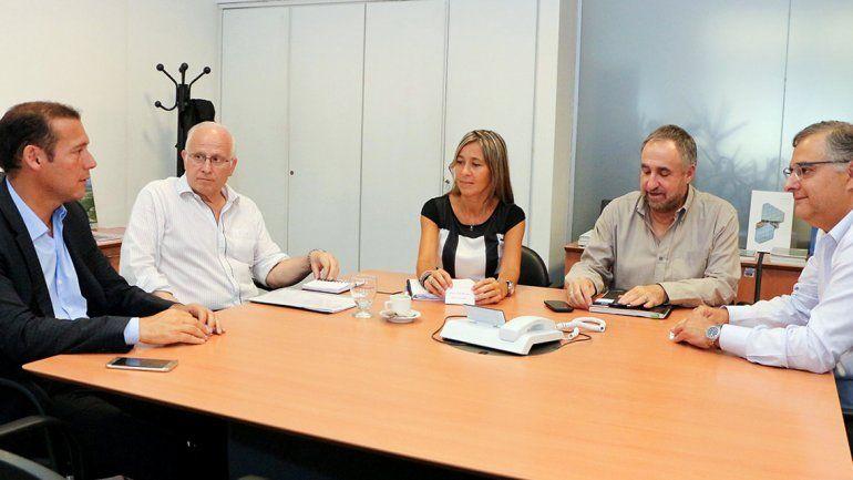La firma se concretó hoy en Buenos Aires.