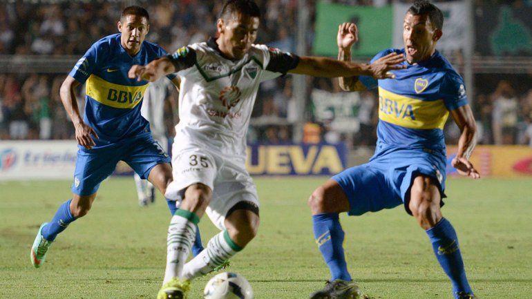 Respira el Vasco: Boca mejoró y venció 1 a 0 a San Martín en San Juan