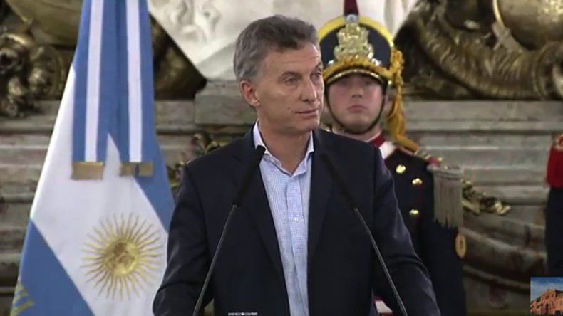 Macri dijo que las escalas de Ganancias se modificarán en 2017