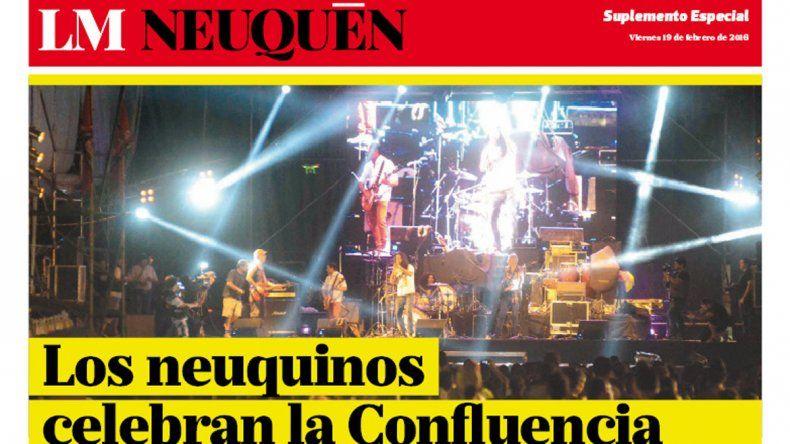 Suplemento Fiesta de la Confluencia.