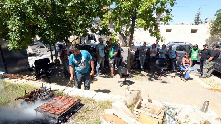 Trabajadores de ATE protestan en la Secretaría de Agricultura