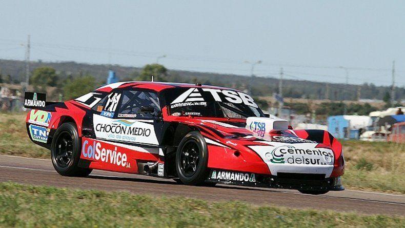 Manu Urcera consiguió su primera pole provisoria en la máxima.