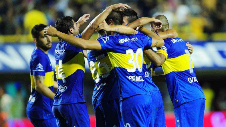 Boca aplastó a Newell´s Old Boys de Rosario en La Bombonera.