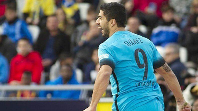 El delantero uruguayo del Barcelona continúa imparable.