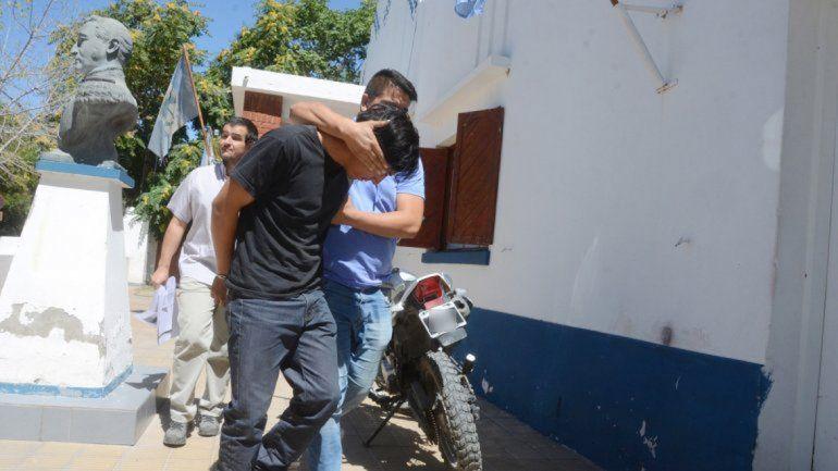 Jorge Cáceres fue acusado de homicidio agravado y su cómplice fue detenido horas después en pleno centro.