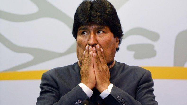 Evo Morales fue a las urnas por su aspiración de presentarse para un cuarto mandato en las elecciones presidenciales de 2019 en Bolivia.