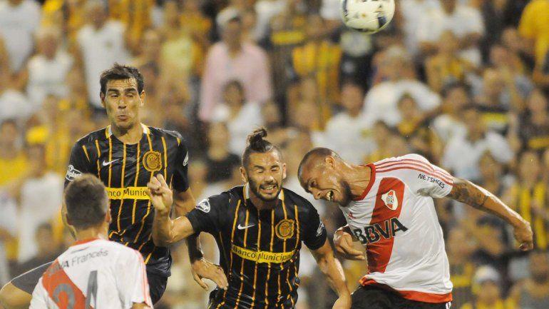 Rosario Central le empató a River Plate sobre la hora.