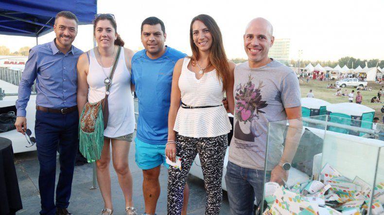 LU5 sorteó un viaje en crucero a Brasil para dos personas y dos bicicletas.