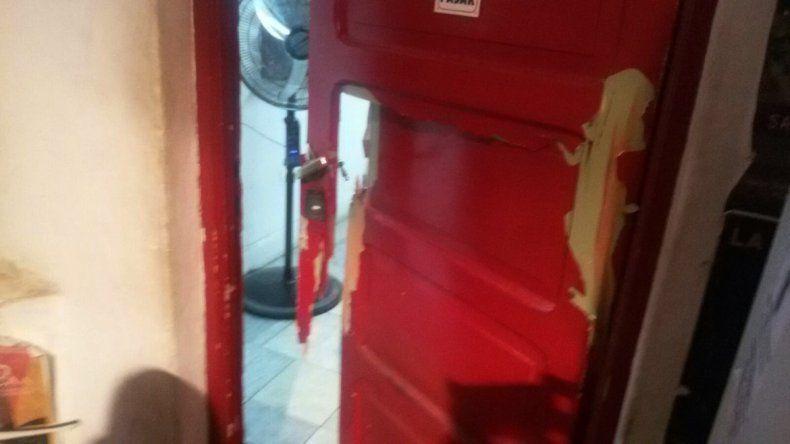 Intentaron robar en la sala La Conrado.
