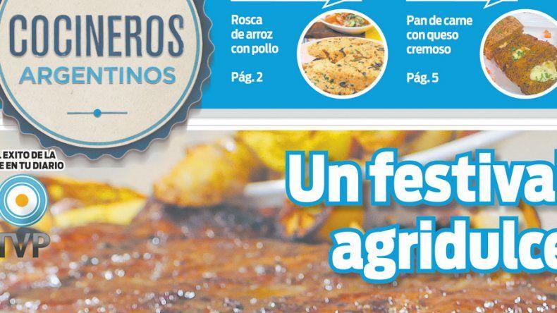Se viene un festival de recetas agridulces de carne y verduras