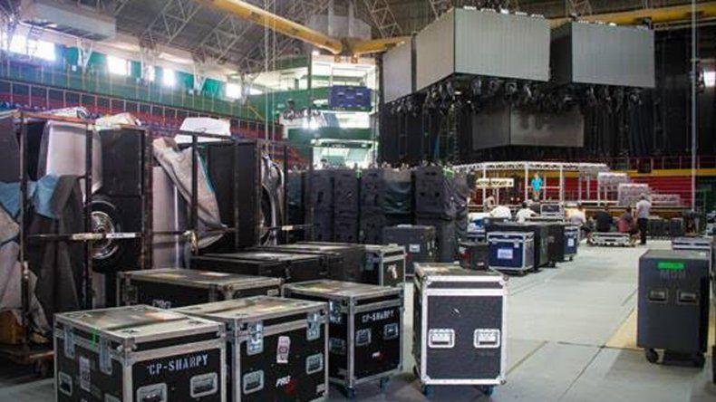 Así se prepara el Ruca Che para el show de Ricky Martin