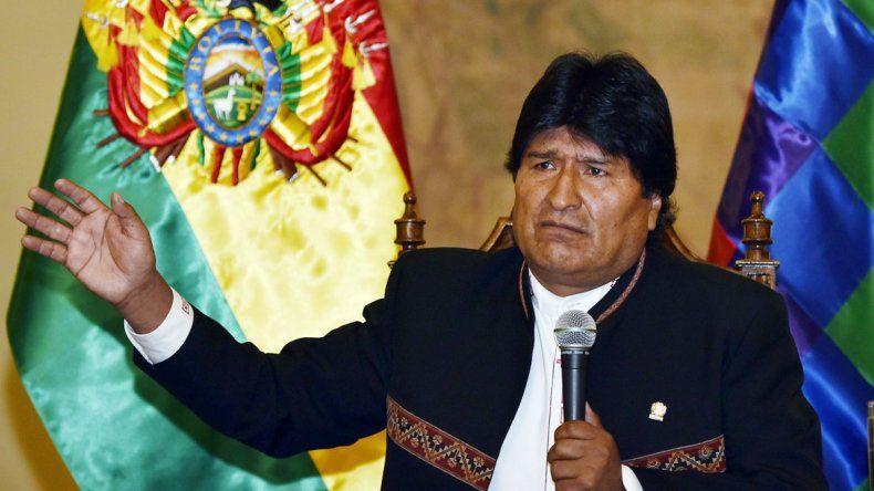 Evo Morales se someterá a una prueba de paternidad
