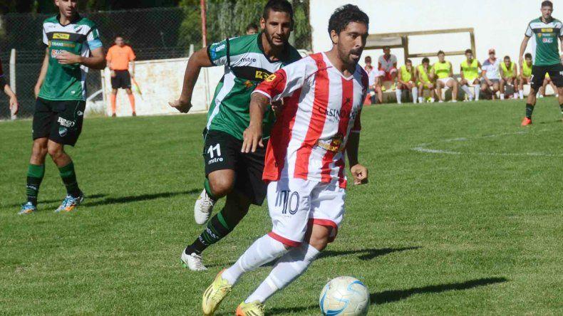 El ex Tiro Federal fue uno de los más activos ante el equipo bahiense.