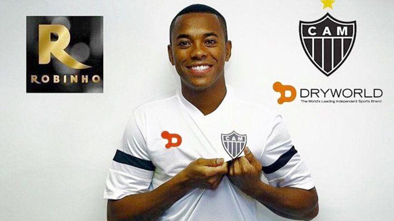 Forlán en Peñarol y Robinho en el Atlético Mineiro