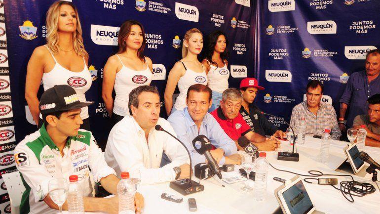 La presentación se realizó en los estudios de Canal 7 Neuquén.