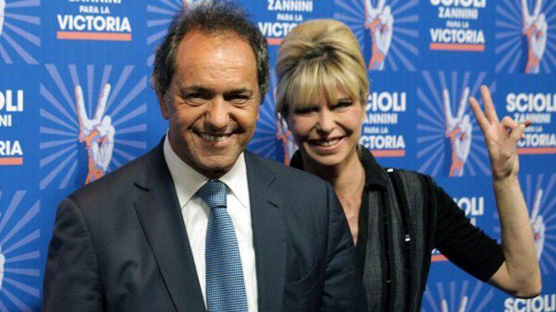 Crecen los rumores de una separación entre Scioli y Rabolini