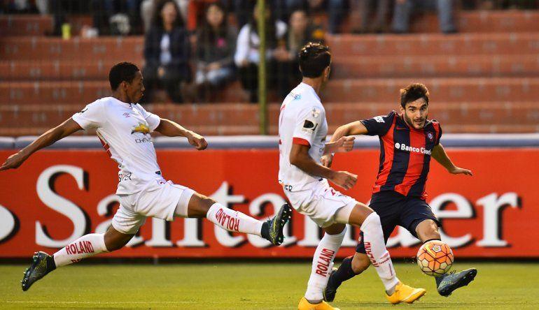 San Lorenzo no pudo con la Liga de Quito y cayó en su debut