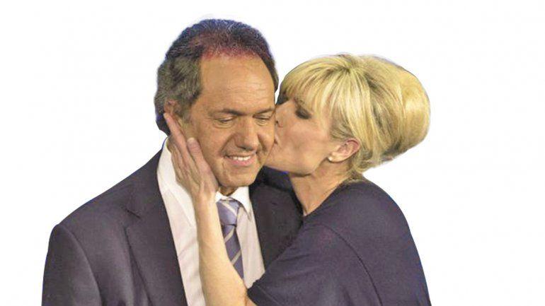 Scioli y Rabolini estarían separados.