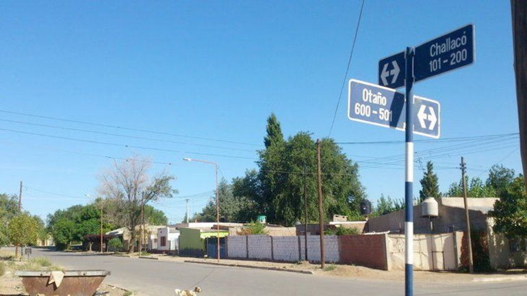 En la esquina de Otaño y Challacó se produjo uno de los hechos.