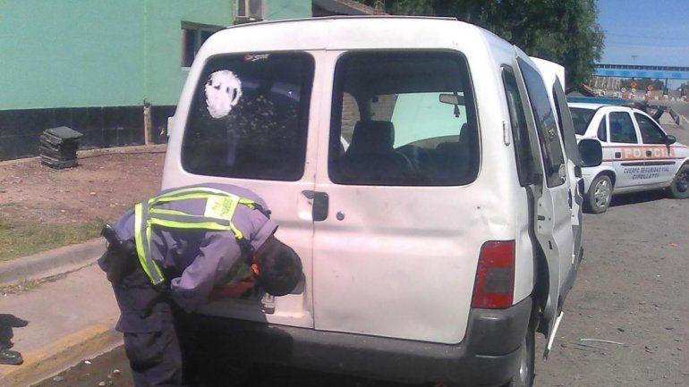 Secuestraron una camioneta melliza en la Isla Jordán