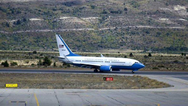 Una comitiva de Barack Obama aterrizó en Bariloche