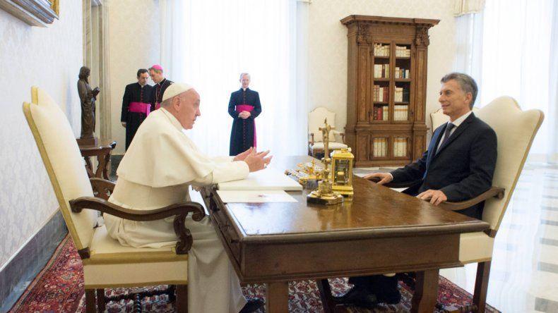 El papa Francisco impone una fría relación a Macri
