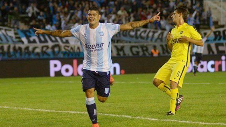 Bou vuelve a enfrentar a Boca. En 4 partidos con Racing