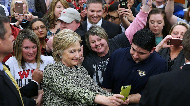 Hillary Clinton se impuso en las elecciones de Carolina del Sur.