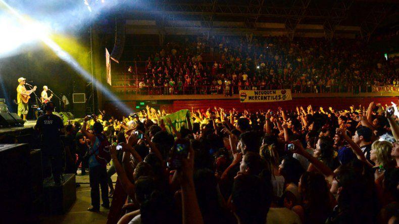 Manu Chao visitó Neuquén en marzo del año pasado y dio un recital también en el Estadio Ruca Che.