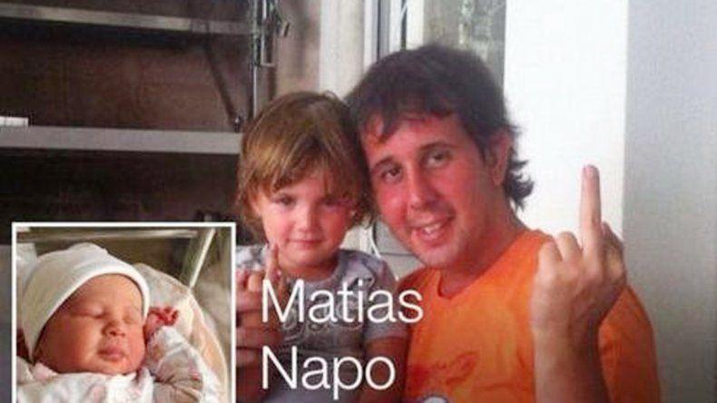 El periodista Matías Napo