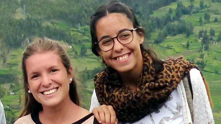 Las chicas eran oriundas de la provincia de Mendoza. No se sabía nada de ellas desde hacía siete días.