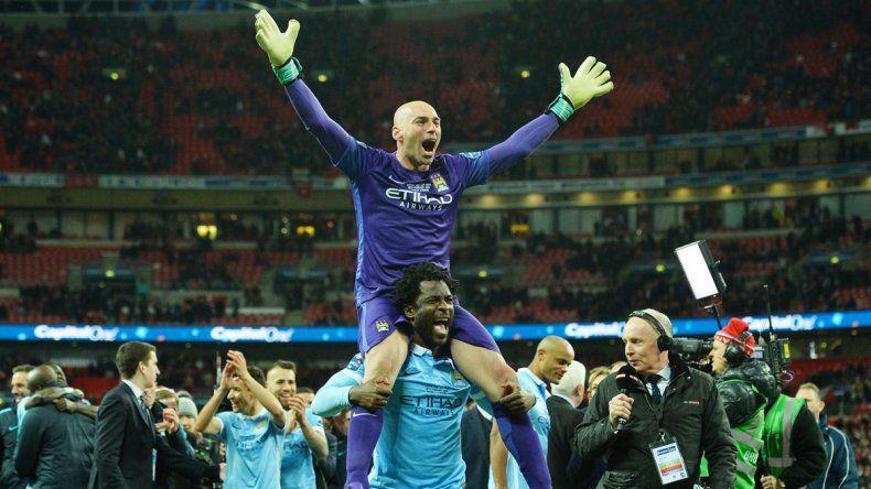 El City ganó la cuarta Copa de la liga inglesa de su historia.