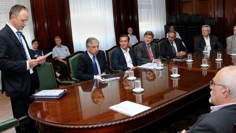 Gutiérrez participó en Buenos Aires de la licitación.