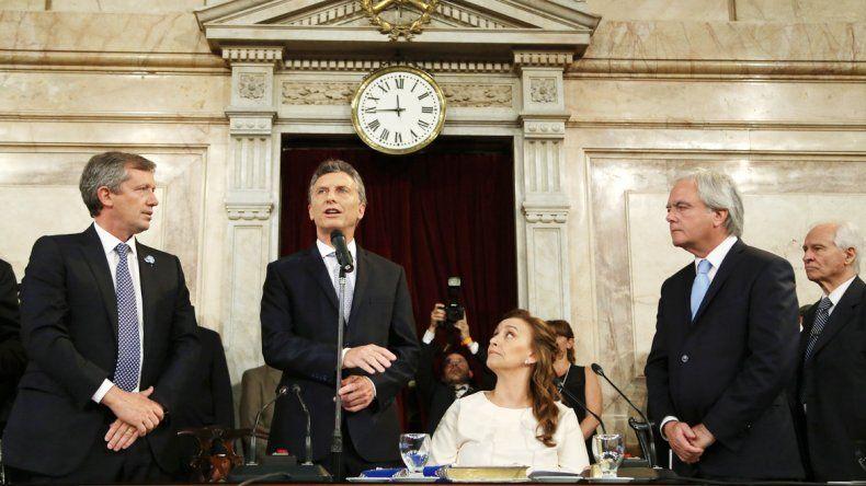 El Presidente brindará hoy su primer discurso en el Congreso de la Nación.