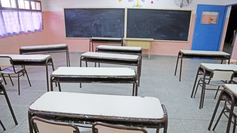 La mayoría de las escuelas no registró actividad. Cerca del mediodía