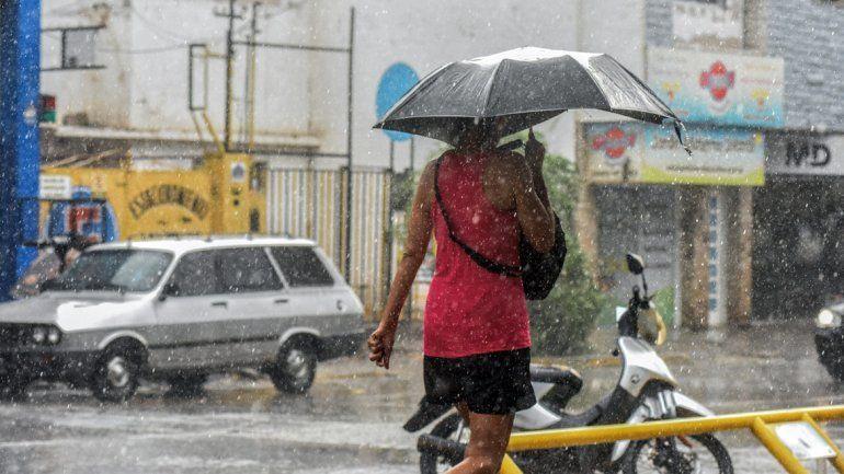 Se esperan algunas lluvias para esta tarde en la región.