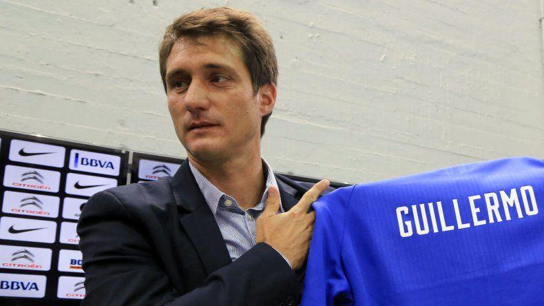 Guillermo es el nuevo DT de Boca.
