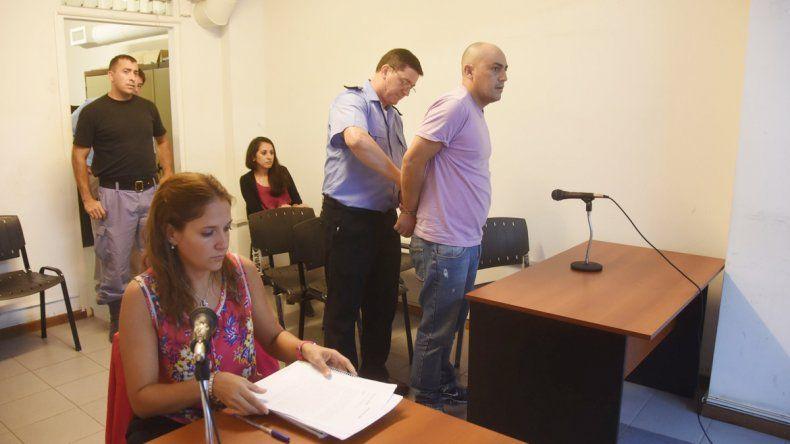 Al Hueviao Mora le dictaron dos meses de prisión preventiva.