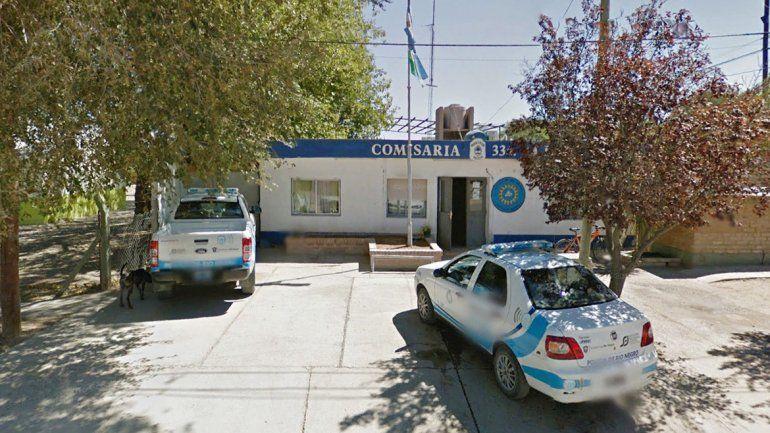 En la Comisaría 33ª de Allen trabajaba el policía rionegrino detenido.