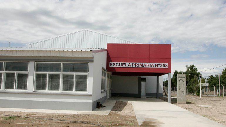 La Escuela 358 está lista y fue anunciada por el gobernador Omar Gutiérrez.