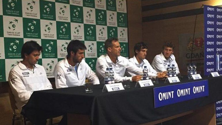 Pella abrirá mañana la serie de la Copa Davis ante Polonia
